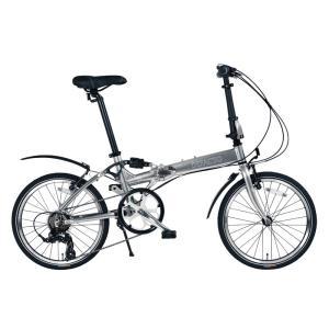 折りたたみ自転車 デファクト DZ-20 軽量フルアルミ仕様...