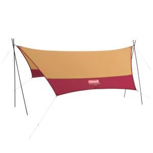 ■カラー:バーガンディ ■ジャンル:テント・タープ/タープ・シェルター/ウィング・ヘキサ型タープ(ポ...