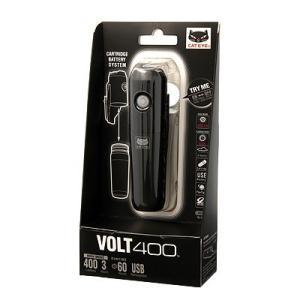 自転車アクセサリー キャットアイ HL-EL461RC VOLT400 充電式LEDライト ブラック|naturum-outdoor|05