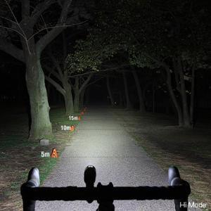 自転車アクセサリー キャットアイ HL-EL461RC VOLT400 充電式LEDライト ブラック|naturum-outdoor|06