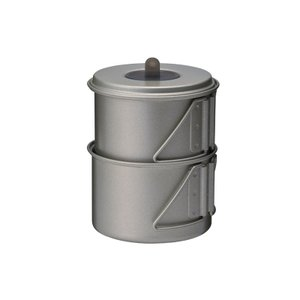 ■ジャンル:調理器具・調理用品/クッカーセット/チタン製ソロクッカーセット ■メーカー: スノーピー...