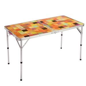 アウトドアテーブル コールマン(Coleman) ナチュラルモザイクリビングテーブル/120プラス