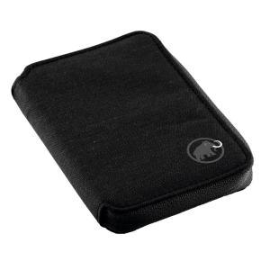Zip Wallet Melange ワンサイズ black