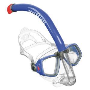 マリンスポーツ AQUALUNG イージースノーケリング2点セット ブルー|naturum-outdoor