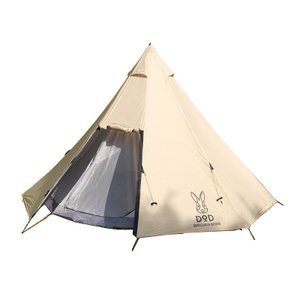 テント DOD ビッグワンポールテント Nシリーズ ベージュ...