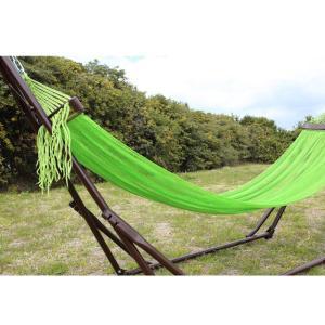 ベッド オールアバウトアクティビティ 自立式キャリーハンモック 単品 ライトグリーン×シルバー|naturum-outdoor|04