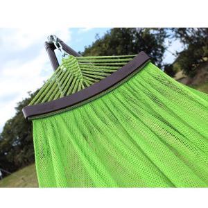 ベッド オールアバウトアクティビティ 自立式キャリーハンモック 単品 ライトグリーン×シルバー|naturum-outdoor|05
