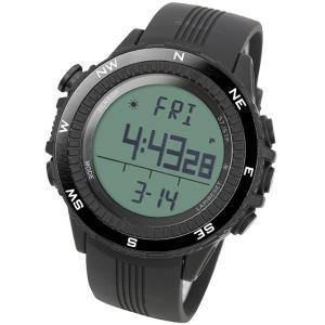 時計 ラドウェザー SENSOR MASTER(センサーマスター) ブラック×通常液晶