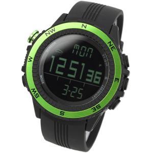 時計 ラドウェザー SENSOR MASTER(センサーマスター) グリーン×反転液晶