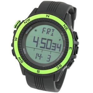時計 ラドウェザー SENSOR MASTER(センサーマスター) グリーン×通常液晶