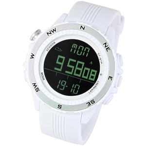 時計 ラドウェザー SENSOR MASTER(センサーマスター) ホワイト×反転液晶