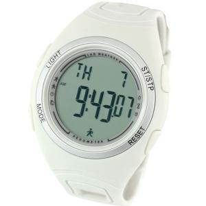 時計 ラドウェザー PEDOMETER MASTER II(ペドメーターマスター) クールグレー×通常液晶