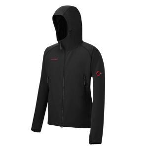 ジャケット(メンズ) マムート SOFtech CLIMB Light Hooded Jacket Men's S 0001(black)