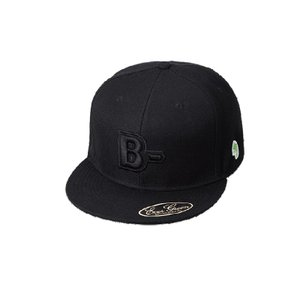B-TRUE フラットキャップ タイプB ブラック