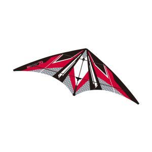 外遊びグッズ WINDNSUN EZスポーツ70 スポーツカイト 凧 レッドヘキサゴン|naturum-outdoor