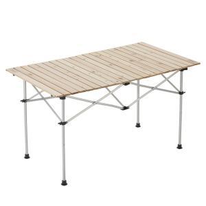 テーブル コールマン(Coleman) ナチュラルウッドロールテーブル120 naturum-outdoor