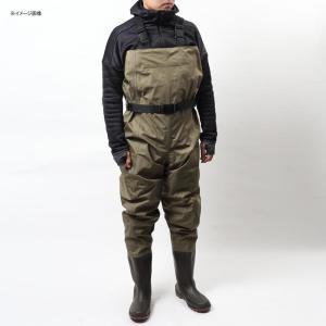 防水透湿ウェーダー フレイン 透湿チェストハイラジアルウェダー(ハイバック) M カーキ naturum-outdoor 04