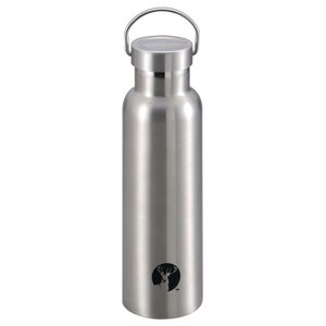 水筒・ボトル・ポリタンク キャプテンスタッグ HDボトル600 0.6L シルバー
