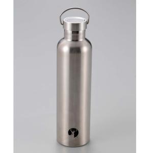 水筒・ボトル・ポリタンク キャプテンスタッグ HDボトル1000 1L シルバー