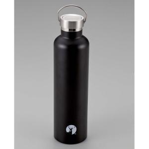 水筒・ボトル・ポリタンク キャプテンスタッグ HDボトル1000 1L ブラック
