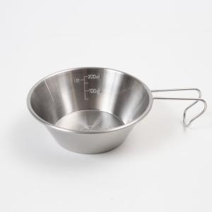 キッチンツール ユニフレーム ナチュラムシェラカップ300|naturum-outdoor