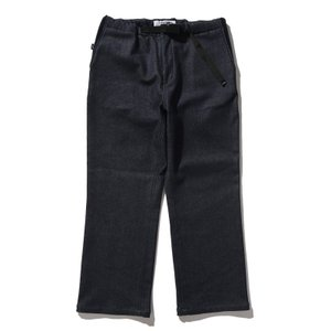 AWESOME PANTS WIDE WARM DENIM S BLACK