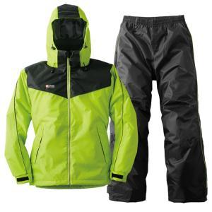 ロゴス 防水防寒スーツ オーウェン LL グリーン|naturum-outdoor