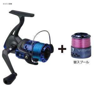 スピニングリール 大阪漁具 Vスピン2(替スプール付) 2000|naturum-outdoor