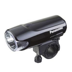 自転車アクセサリー パナソニック LED スポーツかしこいランプ ブラックの画像
