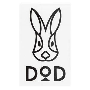 DOD DODロゴステッカー ブラック