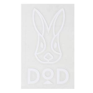 DOD DODロゴステッカー ホワイト|naturum-outdoor