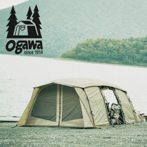 テント ogawa アポロン 5人用 サンドベージュXダーク...