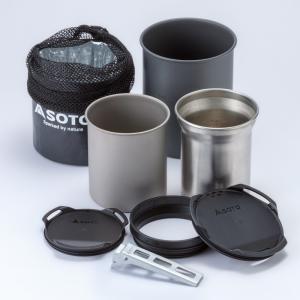 ■納期:即納 ■ジャンル:調理器具・調理用品/クッカーセット/ステンレス製ソロクッカーセット ■メー...