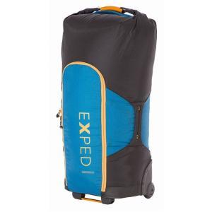 トラベルバッグ EXPED Transfer Wheelie Bag ワンサイズ D.BLUE×BLACK|naturum-outdoor