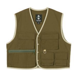 アウトドアベスト コロンビア Watauga Sanctuary Vest(ワタウガ サンクチュアリ ベスト) Men's L 347(SURPLUS GREEN) naturum-outdoor