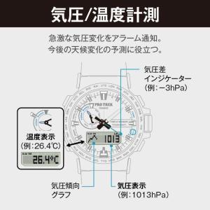 アウトドアウォッチ・時計 プロトレック 【国内正規品】PRW-60Y-1AJF 10気圧防水 電波ソーラー ブラック naturum-outdoor 04