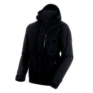 アウトドアジャケット マムート Trovat Tour 3 in 1 HS Jacket Men's L black×phantom×phantom|naturum-outdoor