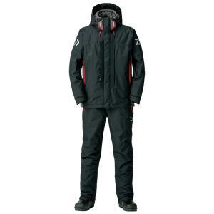 釣り用防寒レインウェア ダイワ DW-3408 レインマックス ハイパー ハイロフト コンビアップ ウィンタースーツ L ブラック naturum-outdoor