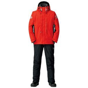 釣り用防寒レインウェア ダイワ DW-3408 レインマックス ハイパー ハイロフト コンビアップ ウィンタースーツ L レッド naturum-outdoor