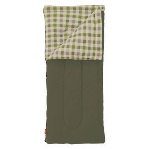 寝袋 防災 封筒型シュラフ コールマン(Coleman) フリースEZキャリー/C0 オリーブリーフ