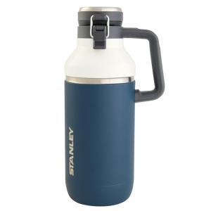 水筒・ボトル・ポリタンク スタンレー ゴーシリーズ セラミバック 真空グロウラー 1.9L ネイビー