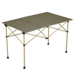 アウトドアテーブル コールマン(Coleman) イージーロール2ステージテーブル/110 オリーブ