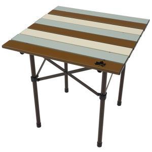 アウトドアテーブル ロゴス LOGOS Life ロールサイドテーブル ヴィンテージ