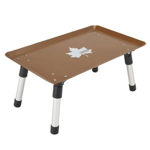 アウトドアテーブル ロゴス スタックカラータフテーブル ヴィンテージキャラメル