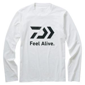 DE-82009 ロングスリーブFeel Alive Tシャツ M ホワイト
