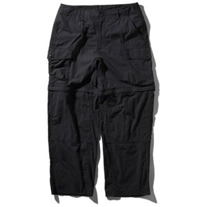 FIREFLY CONVERTIBLE PANT L K(ブラック)