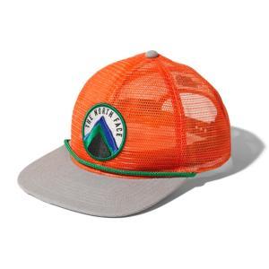 MOUNTAIN ALL MESH CAP(マウンテン オール メッシュ キャップ) フリー ZZ(ジニアオレンジXジンクグレー)