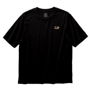 DE-84009 ショートスリーブビッグシルエットTシャツ L ブラック