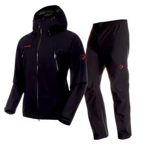 CLIMATE Rain Suit AF Men's L 0052(black×black)