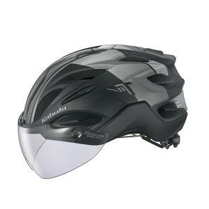 自転車アクセサリー OGK KABUTO ヘルメット VITT (ヴィット) L G-1マットブラックの画像